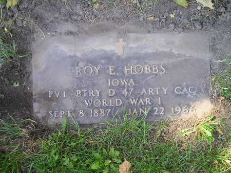 HOBBS, ROY E - Bremer County, Iowa | ROY E HOBBS