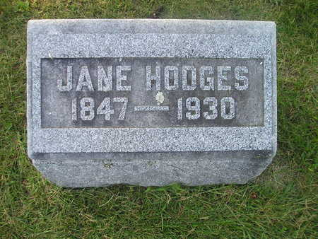 HODGES, JANE - Bremer County, Iowa | JANE HODGES