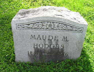 HODGES, MAUDE M - Bremer County, Iowa | MAUDE M HODGES