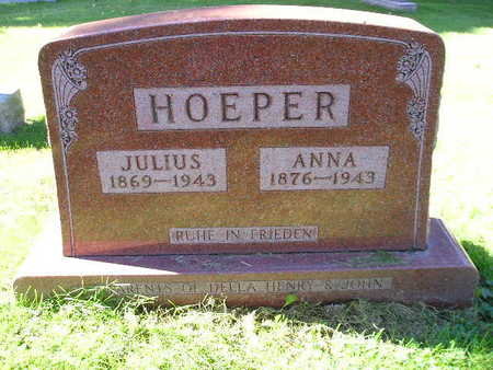 HOEPER, JULIUS - Bremer County, Iowa | JULIUS HOEPER