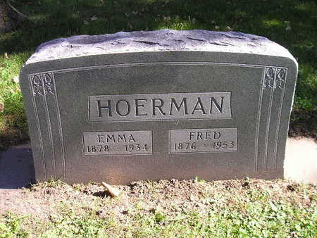 HOERMAN, FRED - Bremer County, Iowa | FRED HOERMAN