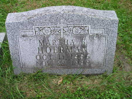 HOERMAN, MARTHA B - Bremer County, Iowa | MARTHA B HOERMAN