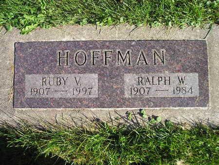 HOFFMAN, RUBY V - Bremer County, Iowa | RUBY V HOFFMAN