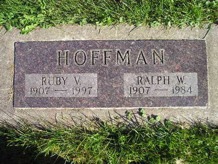 HOFFMAN, RALPH W - Bremer County, Iowa | RALPH W HOFFMAN