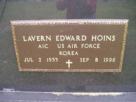 HOINS, LAVERN EDWARD - Bremer County, Iowa | LAVERN EDWARD HOINS