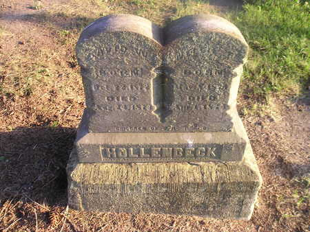 HOLLENBECK, NELLIE F - Bremer County, Iowa | NELLIE F HOLLENBECK