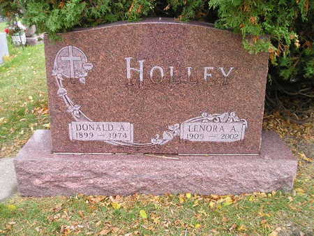 HOLLEY, DONALD A - Bremer County, Iowa | DONALD A HOLLEY