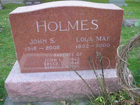 HOLMES, JOHN S - Bremer County, Iowa | JOHN S HOLMES