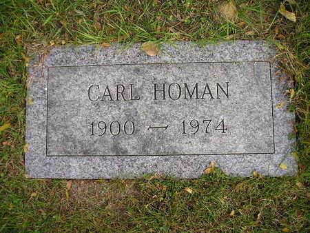HOMAN, CARL - Bremer County, Iowa   CARL HOMAN
