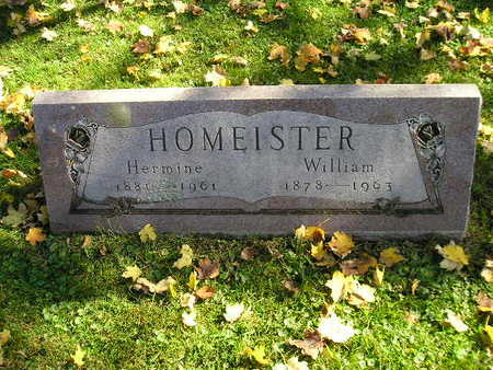 HOMEISTER, WILLIAM - Bremer County, Iowa | WILLIAM HOMEISTER