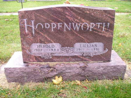 HOPPENWORTH, LILLIAN - Bremer County, Iowa | LILLIAN HOPPENWORTH