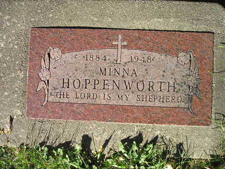 HOPPENWORTH, MINNA - Bremer County, Iowa | MINNA HOPPENWORTH
