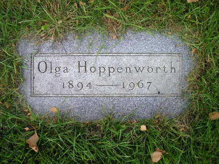 HOPPENWORTH, OLGA - Bremer County, Iowa | OLGA HOPPENWORTH