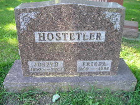 HOSTETLER, FRIEDA - Bremer County, Iowa | FRIEDA HOSTETLER