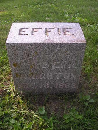 HOUGHTON, EFFIE - Bremer County, Iowa | EFFIE HOUGHTON