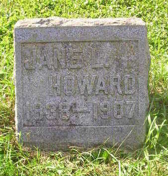 HOWARD, JANE L. - Bremer County, Iowa | JANE L. HOWARD