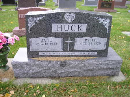 HUCK, JANE - Bremer County, Iowa | JANE HUCK