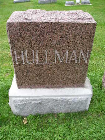 HULLMAN, MARY F - Bremer County, Iowa | MARY F HULLMAN