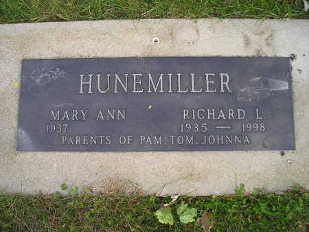 HUNEMILLER, MARY ANN - Bremer County, Iowa | MARY ANN HUNEMILLER