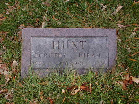 HUNT, DOROTHY - Bremer County, Iowa | DOROTHY HUNT