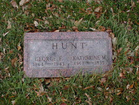 HUNT, KAHERINE M - Bremer County, Iowa | KAHERINE M HUNT