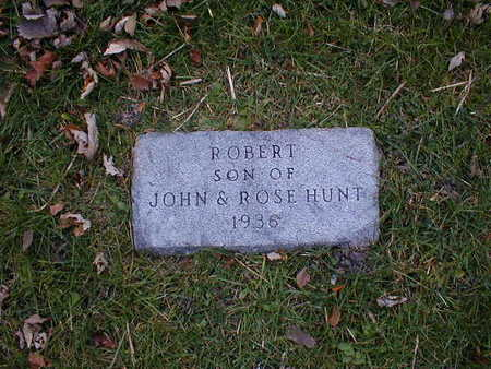 HUNT, ROBERT - Bremer County, Iowa | ROBERT HUNT