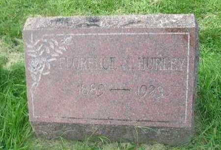 HURLEY, FLORENCE - Bremer County, Iowa | FLORENCE HURLEY