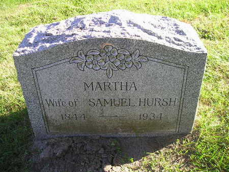 HURSH, MARTHA - Bremer County, Iowa | MARTHA HURSH