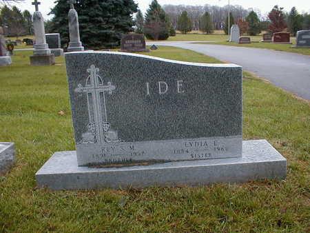 IDE, LYDIA E - Bremer County, Iowa | LYDIA E IDE