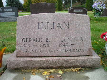ILLIAN, JOYCE A - Bremer County, Iowa | JOYCE A ILLIAN