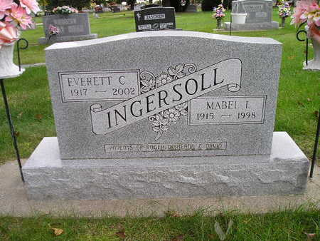 INGERSOLL, MABEL L - Bremer County, Iowa | MABEL L INGERSOLL