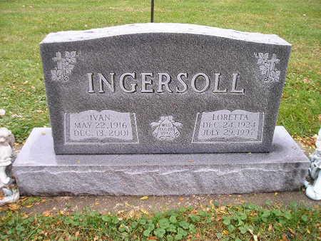 INGERSOLL, LORETTA - Bremer County, Iowa | LORETTA INGERSOLL