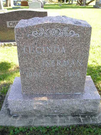 ISEMAN, LUCINDA - Bremer County, Iowa | LUCINDA ISEMAN