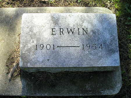 ISERMAN, ERWIN - Bremer County, Iowa | ERWIN ISERMAN