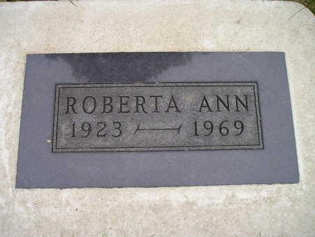 ISERMAN, ROBERTA ANN - Bremer County, Iowa | ROBERTA ANN ISERMAN