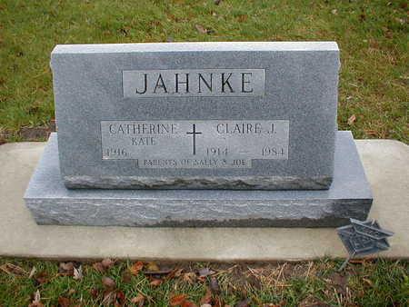 JAHNKE, CLAIRE J - Bremer County, Iowa | CLAIRE J JAHNKE