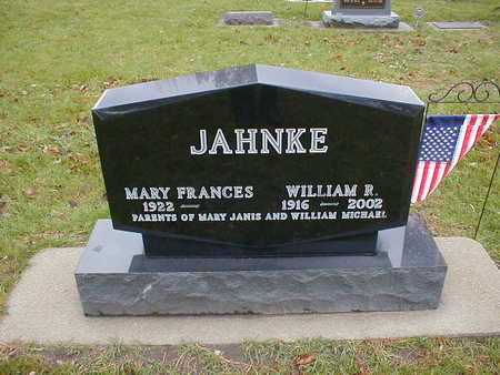 JAHNKE, MARY FRANCES - Bremer County, Iowa | MARY FRANCES JAHNKE