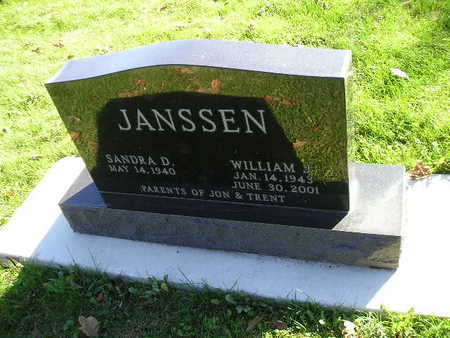 JANSSEN, WILLIAM J - Bremer County, Iowa | WILLIAM J JANSSEN