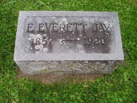 JAY, E EVERETT - Bremer County, Iowa | E EVERETT JAY