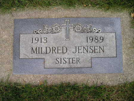 JENSEN, MILDRED - Bremer County, Iowa | MILDRED JENSEN