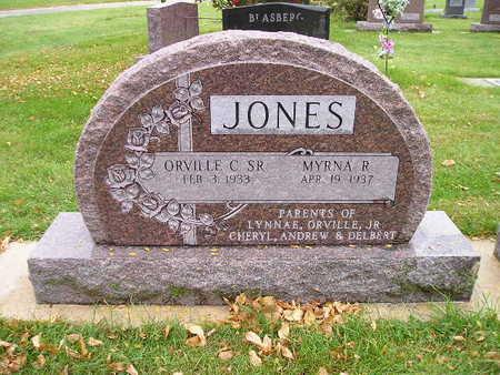 JONES, ORVILLE C SR - Bremer County, Iowa | ORVILLE C SR JONES