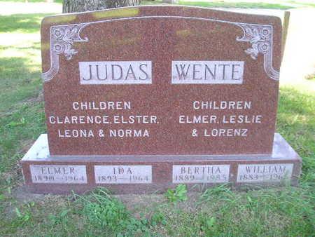 WENTE, BERTHA - Bremer County, Iowa | BERTHA WENTE