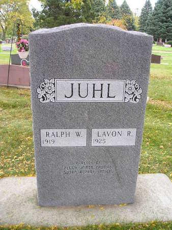 JUHL, LAVON R - Bremer County, Iowa | LAVON R JUHL