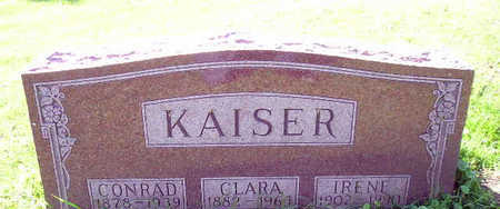 KAISER, CLARA - Bremer County, Iowa | CLARA KAISER