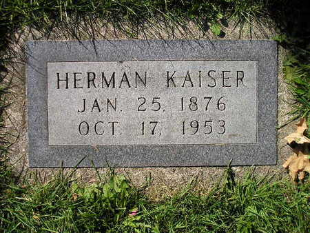 KAISER, HERMAN - Bremer County, Iowa | HERMAN KAISER