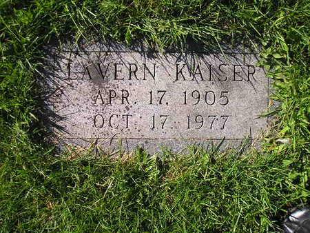KAISER, LAVERN - Bremer County, Iowa | LAVERN KAISER