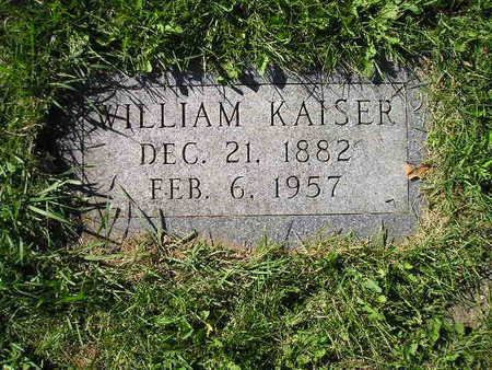 KAISER, WILLIAM - Bremer County, Iowa | WILLIAM KAISER