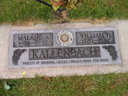 KALLENBACH, WILLIAM H - Bremer County, Iowa | WILLIAM H KALLENBACH