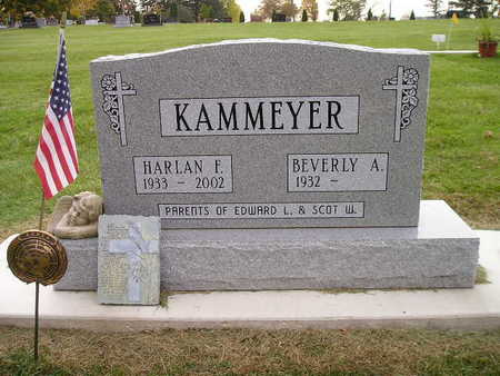 KAMMEYER, BEVERLY A - Bremer County, Iowa | BEVERLY A KAMMEYER