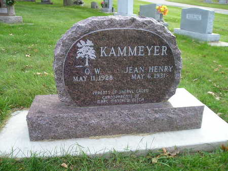 KAMMEYER, O W - Bremer County, Iowa | O W KAMMEYER